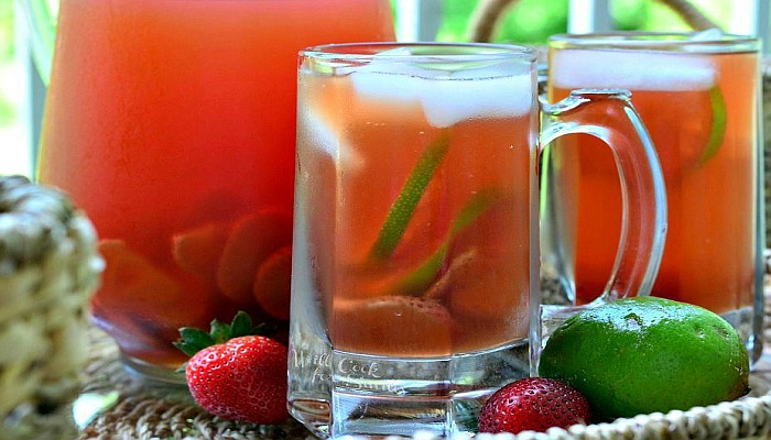 Strawberry-Infused-Sports-Drink